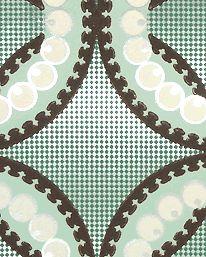 Moorish Circles Miami Green fra Neisha Crosland