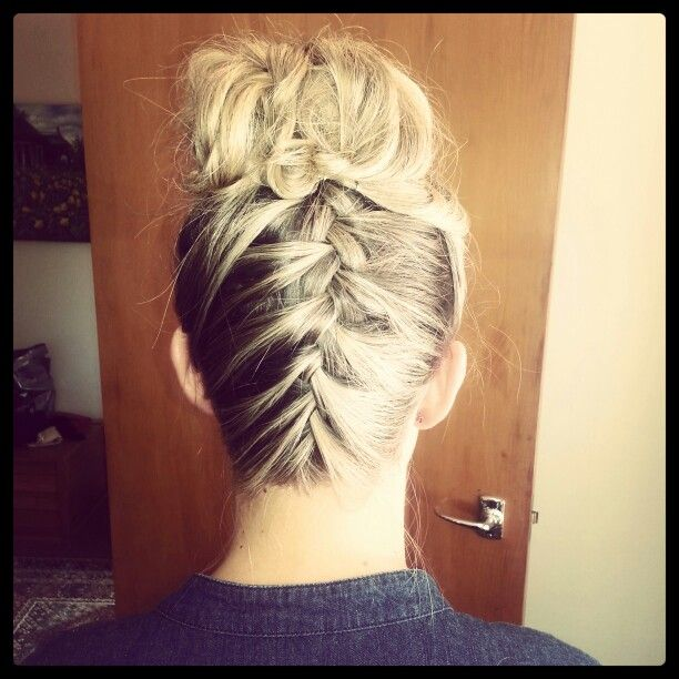 Bridesmaids fun #braids #blonde #hair #styledbymia