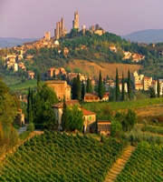 Lovely town with amazing food!      San Gimignano, Tuscany
