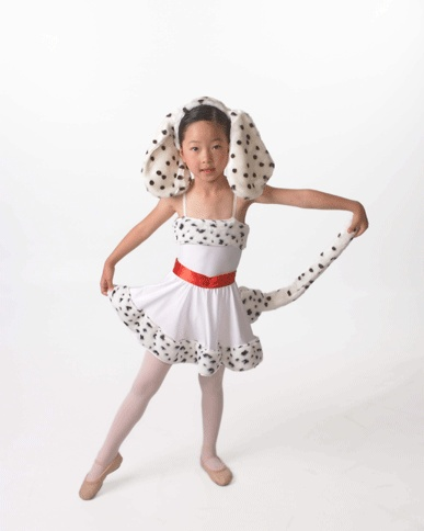 Mommy and Me Halloween Costume - Moms & Munchkins |Dalmation Dance Costume