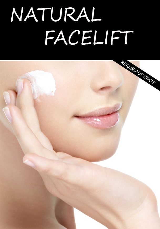 DIY natural at home facelift - 3 easy to do steps: exfoliate, tighten and…