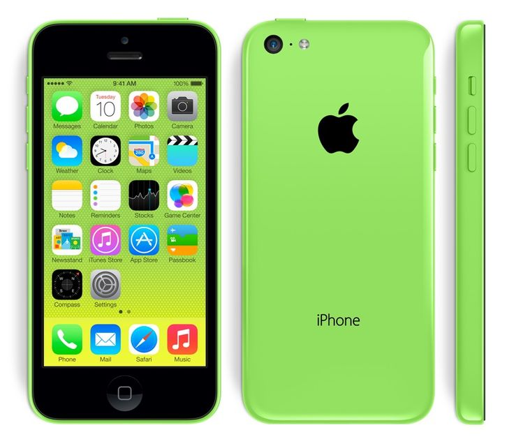 Green edition Apple iPhone 5C