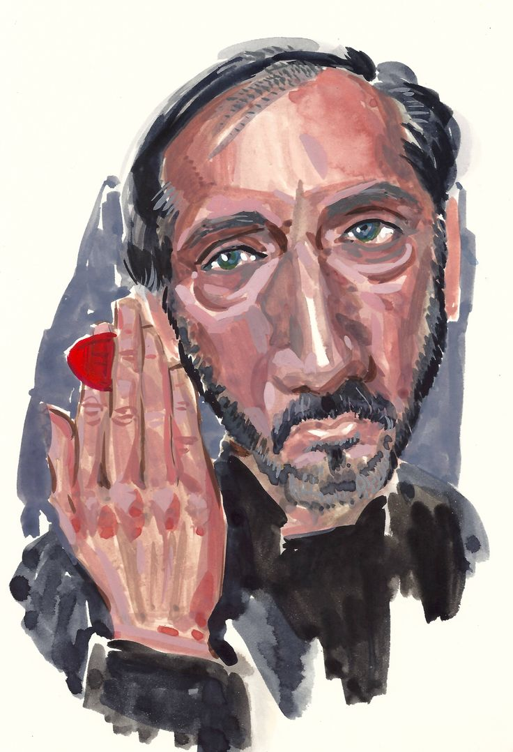 """Who is your guitar hero? """"Pete Townshend """". by #artist Vince Mancuso"""