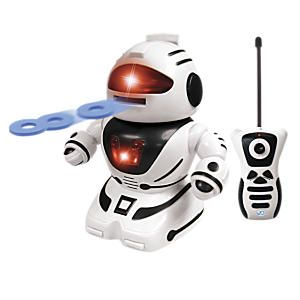 Toy RC Robot with Disc Shooter