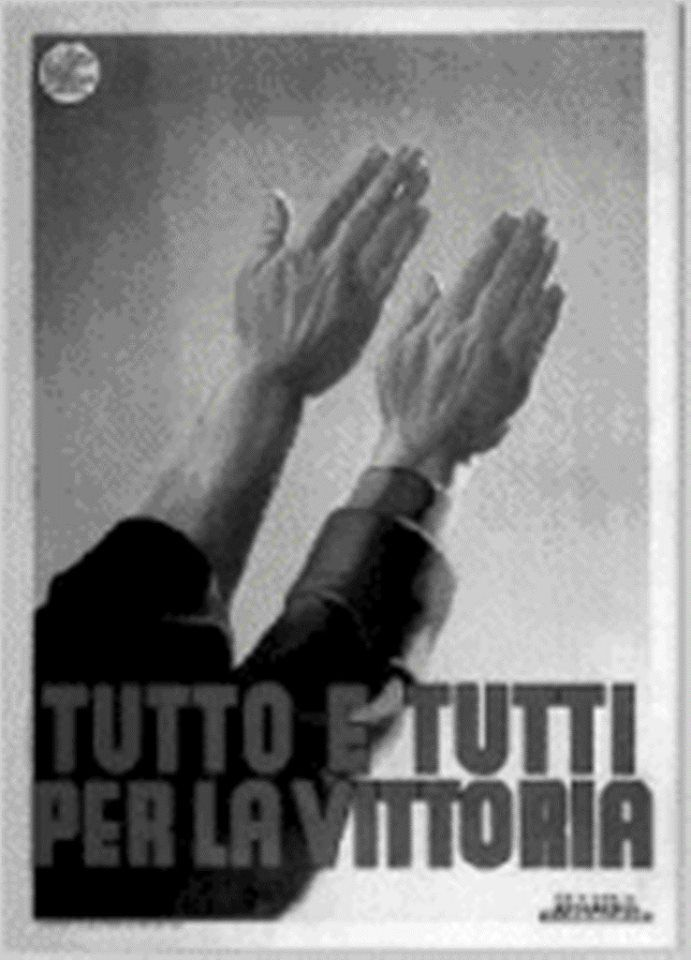 "Italian WW2 ""Everything and everyone for the win!"""