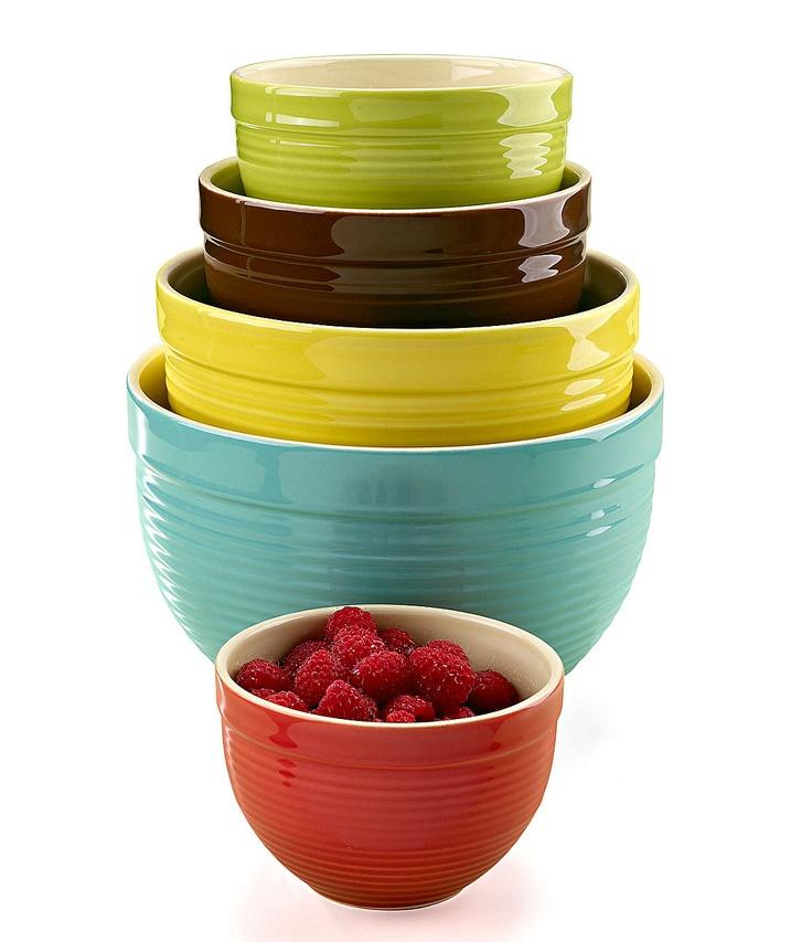 The Main Ingredients 5Piece Mixing Bowl Set  Dillardscom  Dillards P # Kitchenaid Qvc Sweepstakes