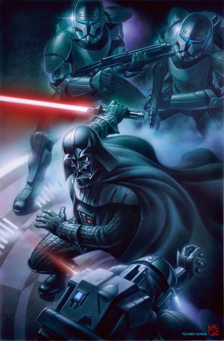 /by Tsuneo Sanda #StarWars #illustration #art