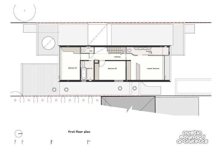 Image 37 of 41 from gallery of THAT House / Austin Maynard Architects. Floor Plan