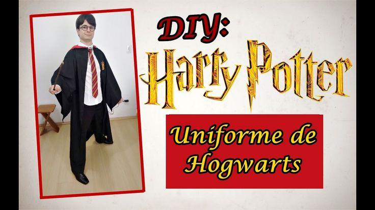 DIY: Uniforme de Hogwarts - Harry Potter