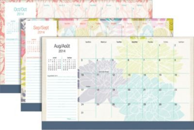 Staples®. has the Mead® 2014/2015 Botanical Boutique® 2014/2015 Recycled Desk/Wall Academic Calendar, 18'' x 11'', Assorted Design Covers, Bilingual you need for home office or business. Shop our great selection, read product reviews and receive