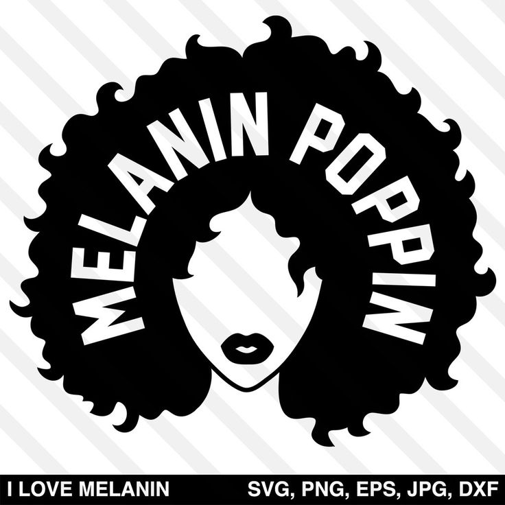 Download Melanin Poppin SVG | Image paper, Abstract portrait ...