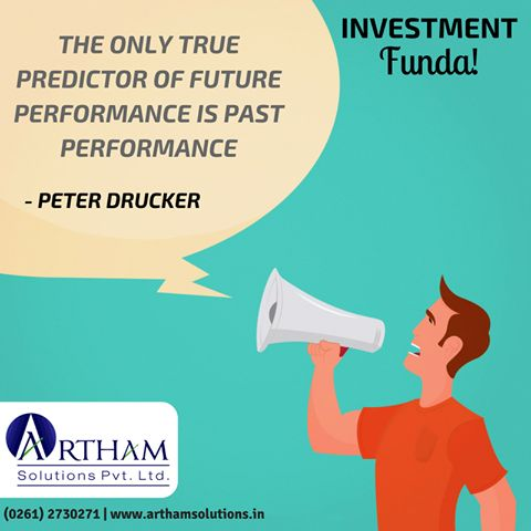You can not ignore the past performance, to predict the future performance. #Investment #Surat