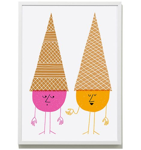 klas fahlenIce Cream Cones Prints, Ice Cream Social, Cream Prints, Art Design, Icecream Illustration, Food Art, Art Illustration, Icecream Cones Prints, Cream Parties