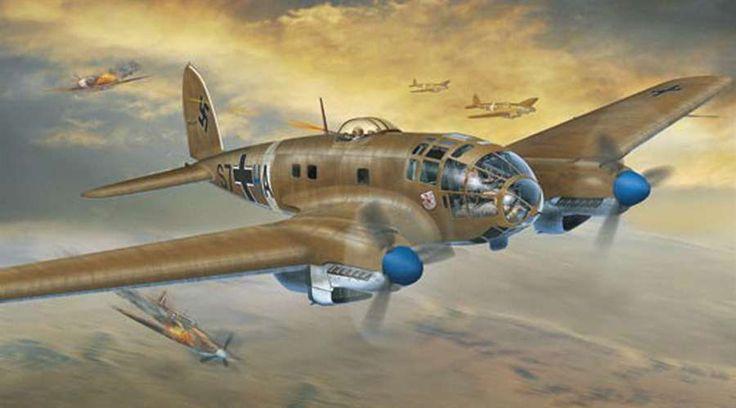 Heinkel He 111 Bomber German Medium Bomber: ...