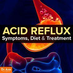 Acid reflux symptoms, diet & treatment