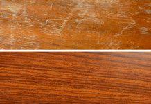 Geniální způsob jak odstranit škrábance z dřevěného nábytku! Bude vypadat jako nový!