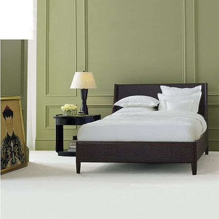 Barbara Barry Caned Queen Bed