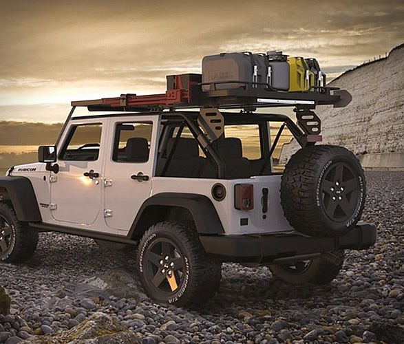 Front Runner Slimline Ii Roof Rack With Images Jeep Wrangler