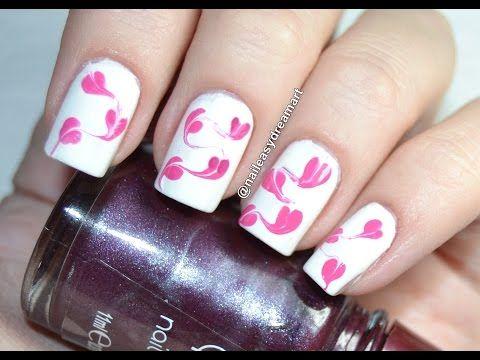 nail art - tecnica semplice #nails #nailart #tutorialnailart