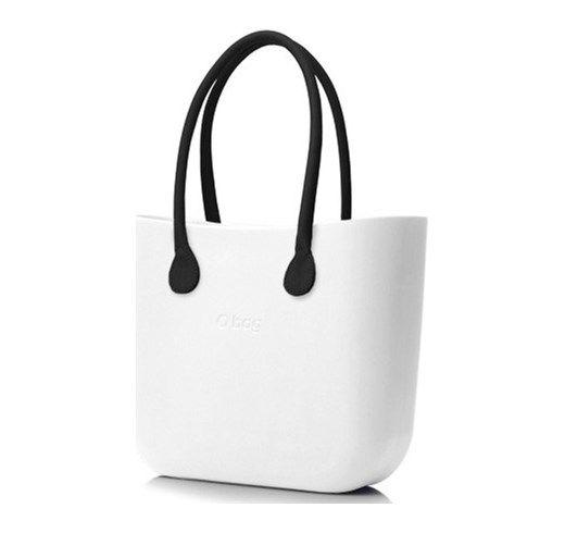 Borsa o Bag Grande colore Bianco manici eco pelle e sacca silvanaccessorimoda bianco