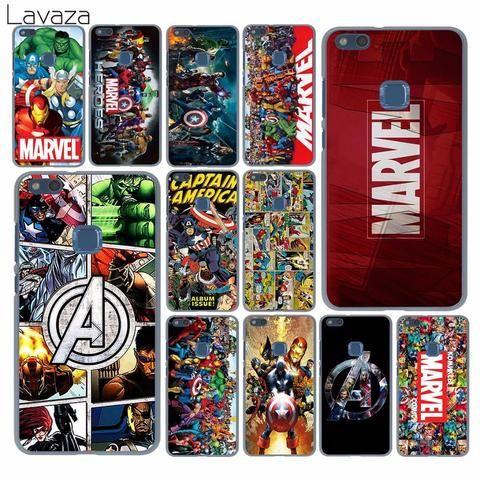 Lavaza Marvel Superheroes The Avengers Case For Huawei P20 P10 P9 Plus P8 Lite Mini 2015 2016 2017 P S Android Case Print Phone Case Hard Phone Cases