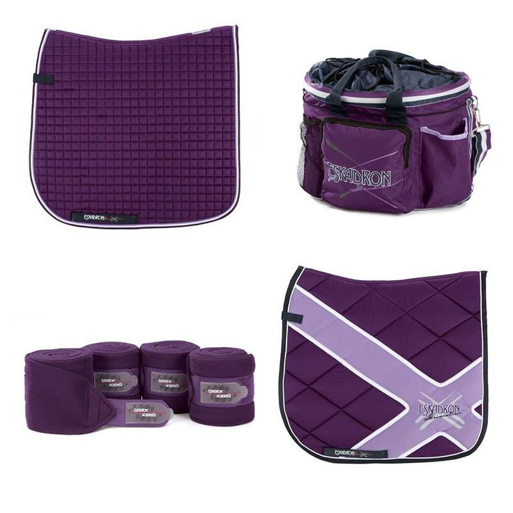 If you like purple for your pony , check out eskadron