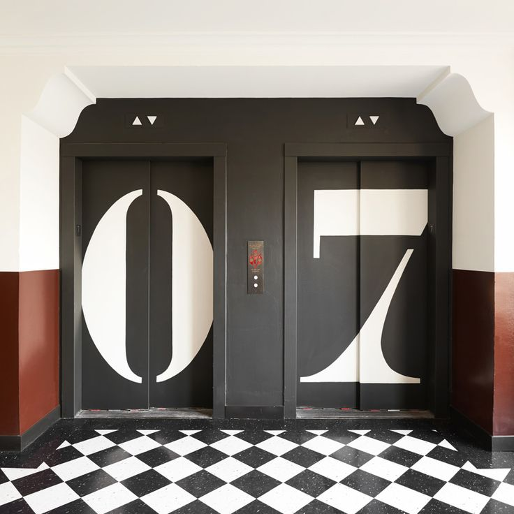 ACE HOTEL DTLA WAYFINDING - P E T E R B O W H A N