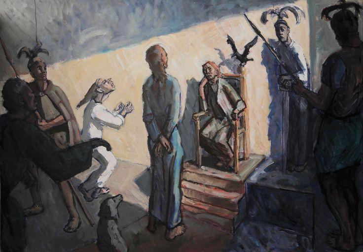 Francis Hoyland, Christ before Herod