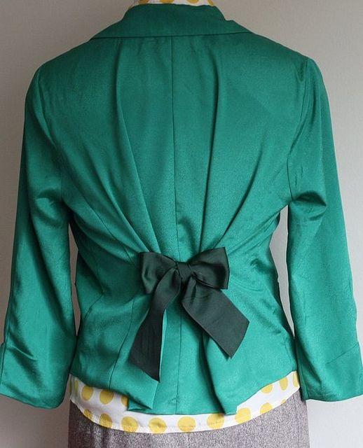 Refashion: Mono para entallar una chaqueta (tutorial) Super easy up cycle
