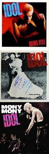 Billy Idol - Rebel Yell, White Wedding and Mony Mony