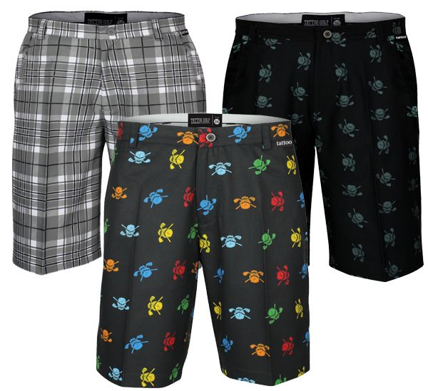 Men's golf shorts (and just about everything else) on sale now at tattoogolf.com.  Use coupon code HW25 & get 25% off.