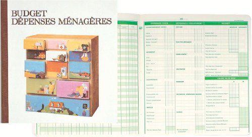Exacompta – 78E – Piqure Budget des Dépenses Ménagères – 27/25 – 56 Pages: Exacompta – budget dépense ménagère – 27x25cm – 56p Piqûre de…