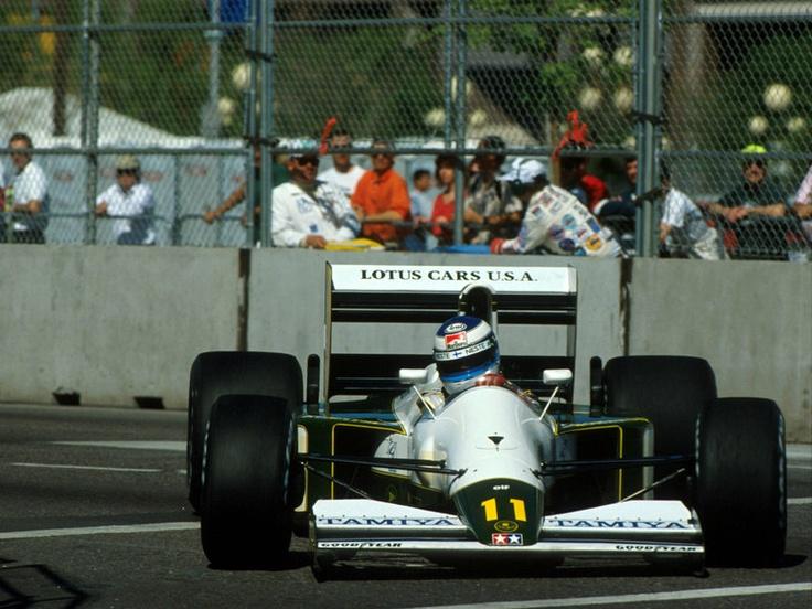 Mika Hakkinen Phoenix 1991 Lotus 102b Formula 1