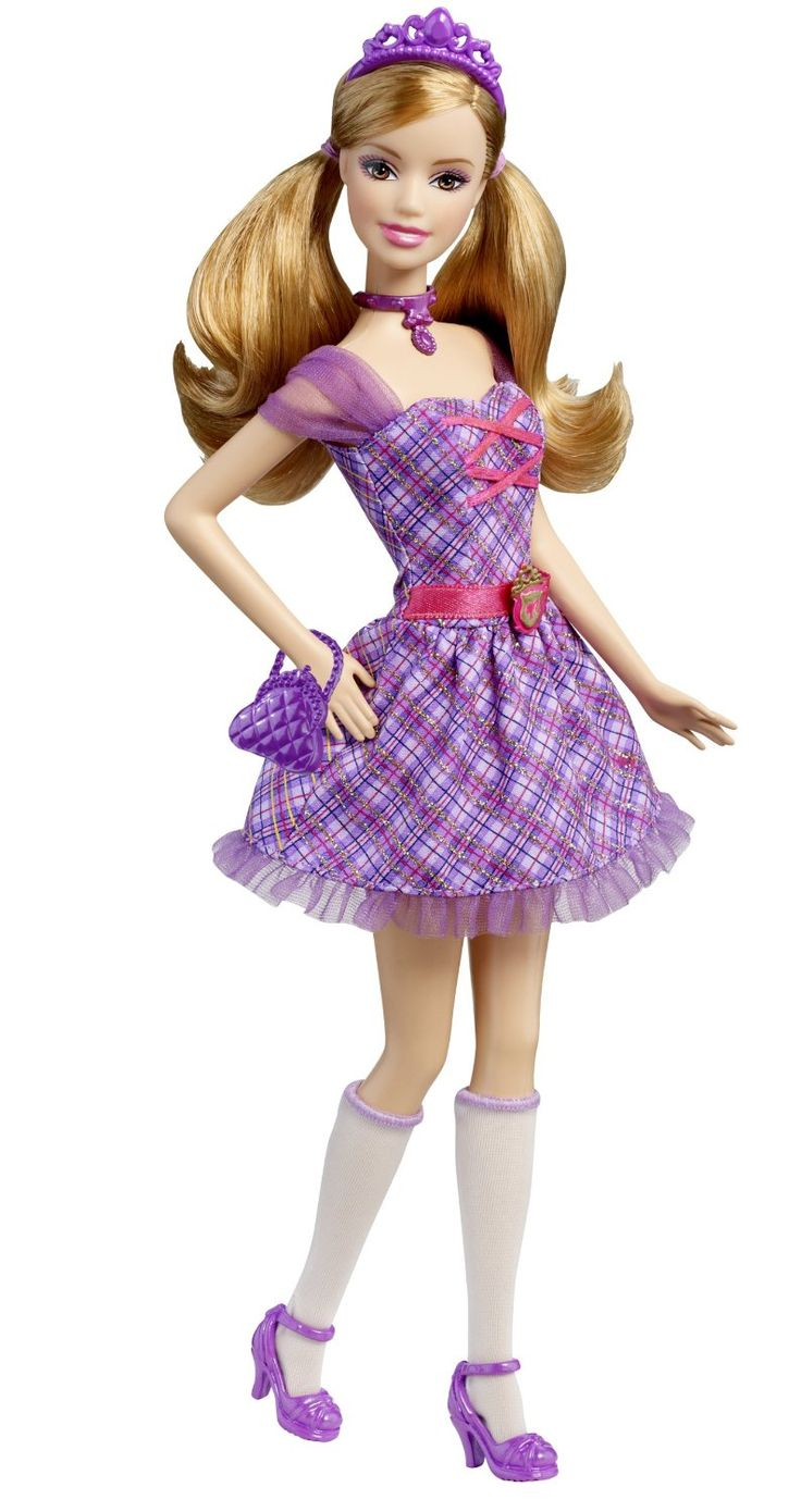 Barbie princess charm school school girl princess delancy - Barbie princesses ...