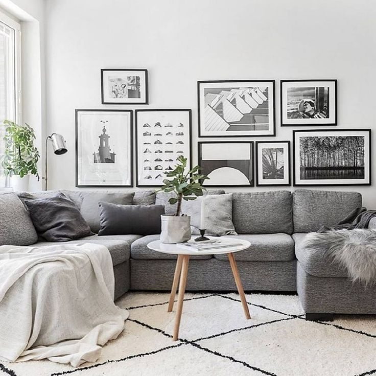35 inspiring scandinavian living room design - White Sitting Room Furniture
