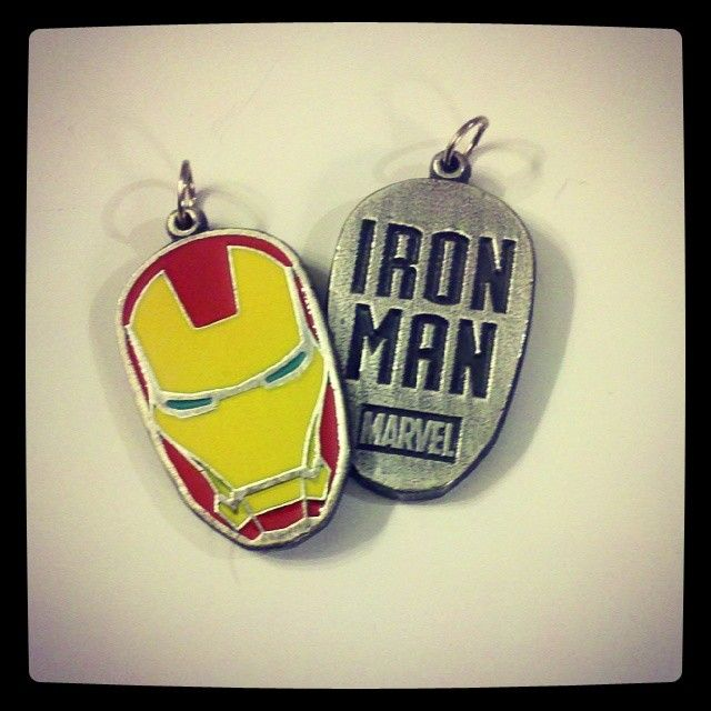 Colgante/llavero Iron Man