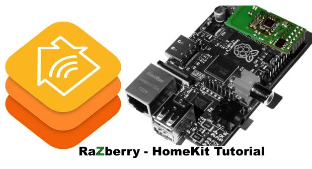 Z-Wave Raspbberry Pi als Homekit Bridge
