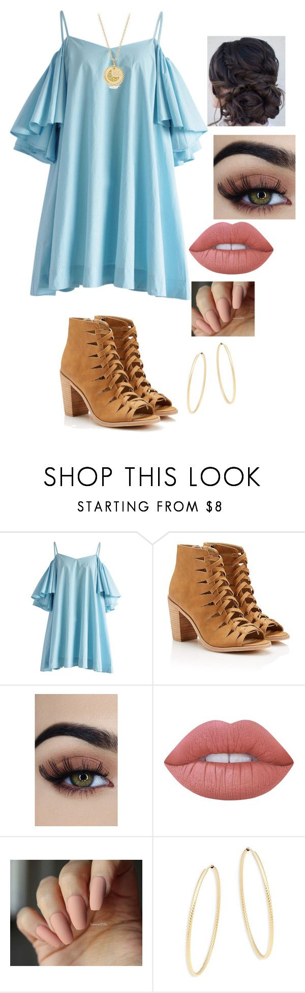 """""""Untitled #105"""" by magali03garcia on Polyvore featuring Lime Crime, Saks Fifth Avenue and David Yurman"""