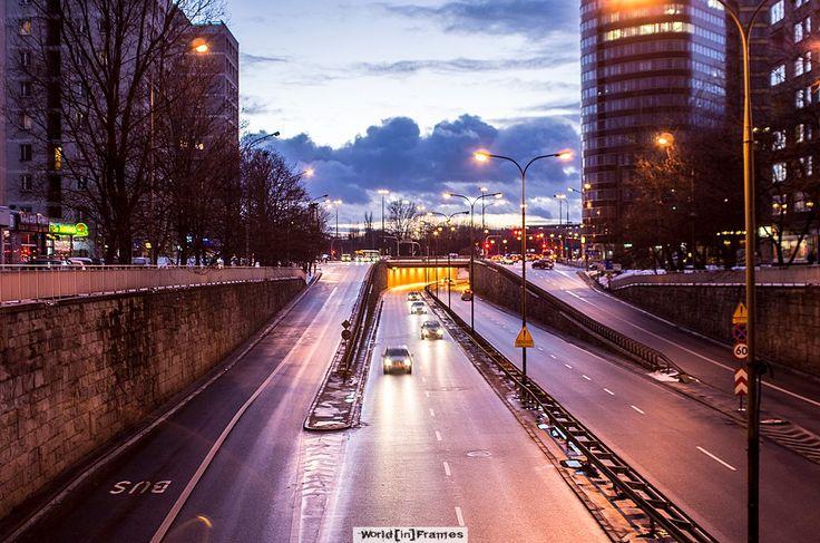 Warsaw, city centre Poland