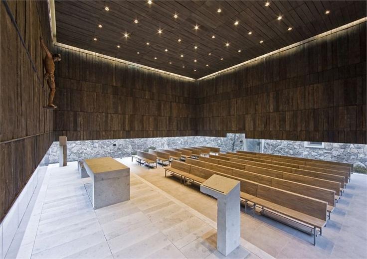 CAPILLA DEL RETIRO  INTERNATIONAL PRIZE FOR SACRED ARCHITECTURE 2012 - WINNER  ILLAPEL / チリ / 2009 #archi