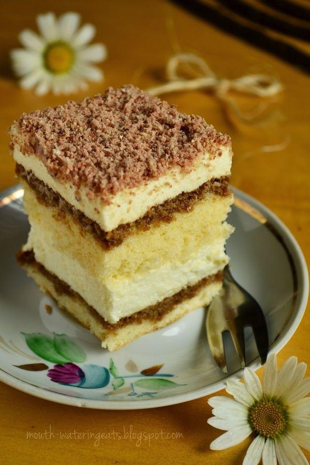 princessa- delikatne ciasto z nutką kawowo-wafelkową