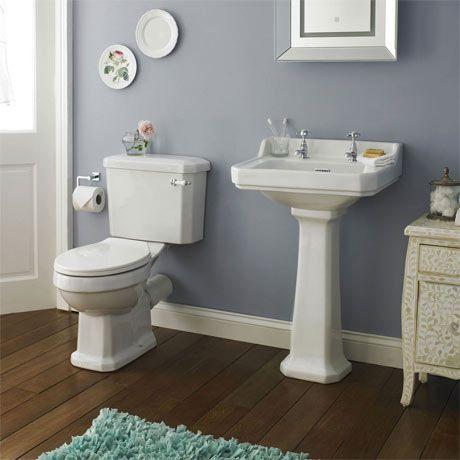 Premier Carlton 4-Piece Traditional 2TH Bathroom Suite - 500mm Basin