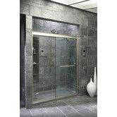 """Found it at Wayfair - Fluence 59.63"""" W X 70.31"""" H Sliding Shower Door with 0.375"""" Crystal Clear Glass"""