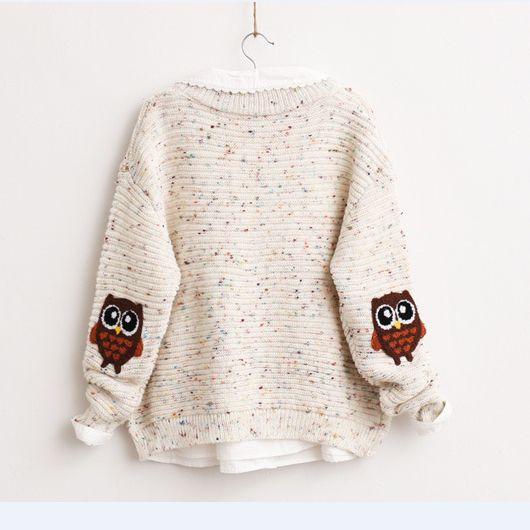 Cute sweet owl sweater Cute Kawaii Harajuku Fashion Clothing & Accessories Website. Sponsorship Review & Affiliate Program opening!