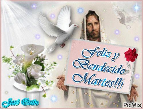 FELIZ Y BENDECIDO MARTES SANTO