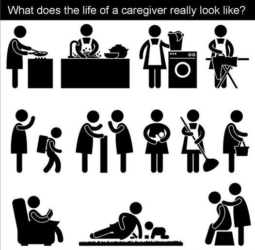 What does a caregiver's day look like? Leave your answer in the comments!