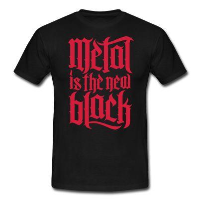 Camiseta Metal is the new Block 1 - Camiseta Hombre | Camisetas Heavys