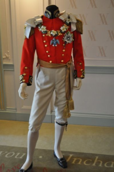 An outfit worn by Prince Albert on his marriage to Queen Victoria.