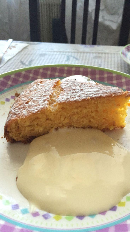 Torta alle clementine con crema al Grand Marnier