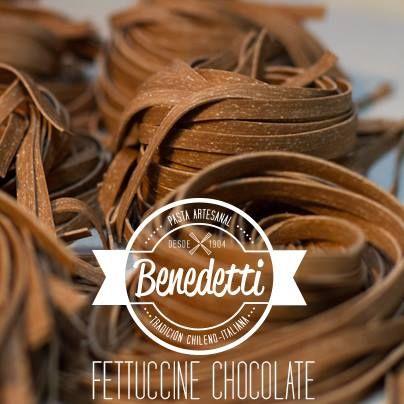 Fettuccine chocolate